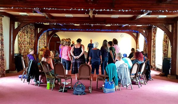 Photo of a Group healing Workshop