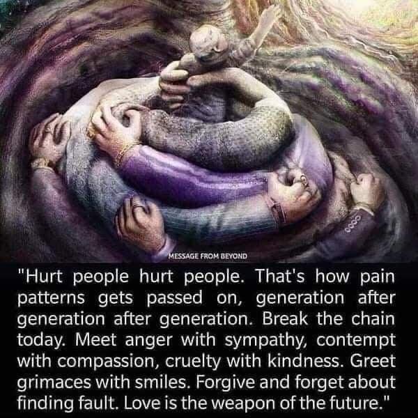 how hurt people hurt people